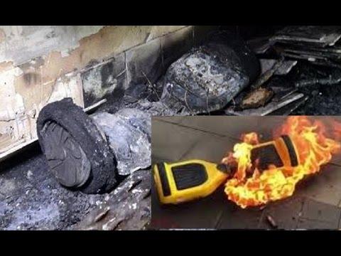 Swegways UK catching fire