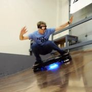 Tony Hawk Tried out Hoverboard