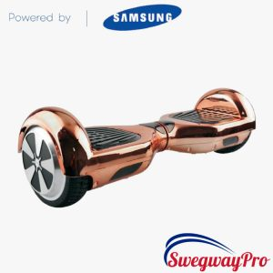 Chrome Rose-Gold Hoverboard