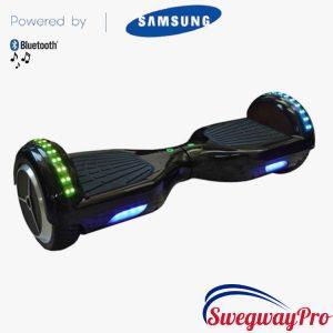 UK Swegway Black Bluetooth LED Hoverboard Sale Deal