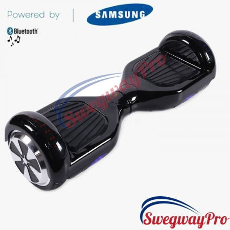 BLACK Disco Hoverboard Sale UK M1X
