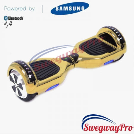 Hoverboard UK Chrome Gold Disco Sale