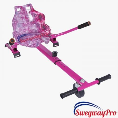 Pink Galaxy Hoverkart Hoverboards UK