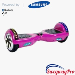 PINK Hoverboard Bluetooth LED