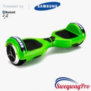 GREEN Bluetooth LED Hoverboard Swegway UK