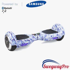 Blue-Camo Design Bluetooth Hoverboard