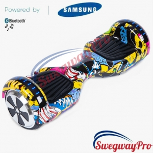 HOVERBOARDS UK Graffiti Disco Hoverboard