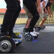 UK Swegway Hoverboard Races