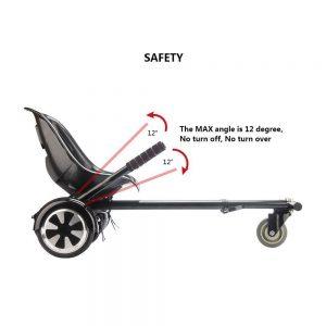 Safety on Hoverkart for Swegways UK