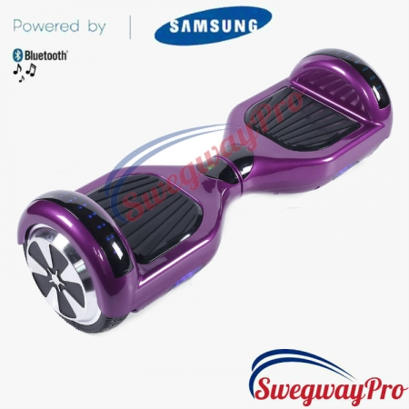 PURPLE Disco Hoverboard Sale UK M1X