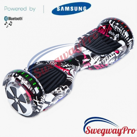 HOVERBOARDS UK Punisher Disco Hoverboard