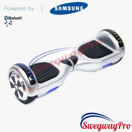 SILVER DISCO HOVERBOARD SALE UK