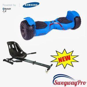 BLUE Megatron Off Road Swegway Hoverboard Hoverkart Bundle Sale