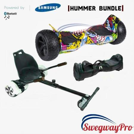 HOVERBOARDS UK Graffiti Hummer Hoverkart Bundle