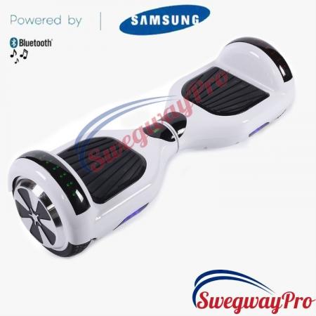 WHITE Disco Hoverboard Sale UK M1X