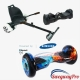 10 inch Flame Hoverboard Hoverkart Bundle Sale UK