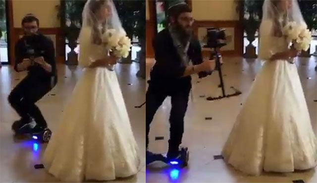 Hoverboard wedding on UK Swegways