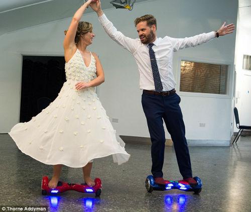 Royal Hoverboard Wedding theme Swegway Sale UK