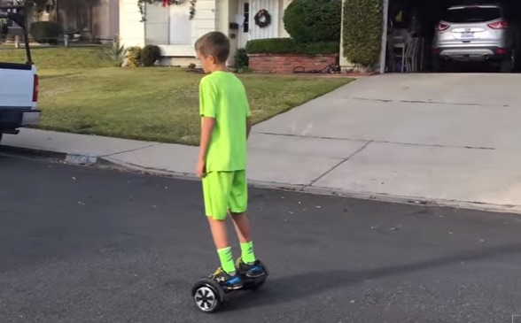 8 year old better than you on a Hoverboard UK Swegway