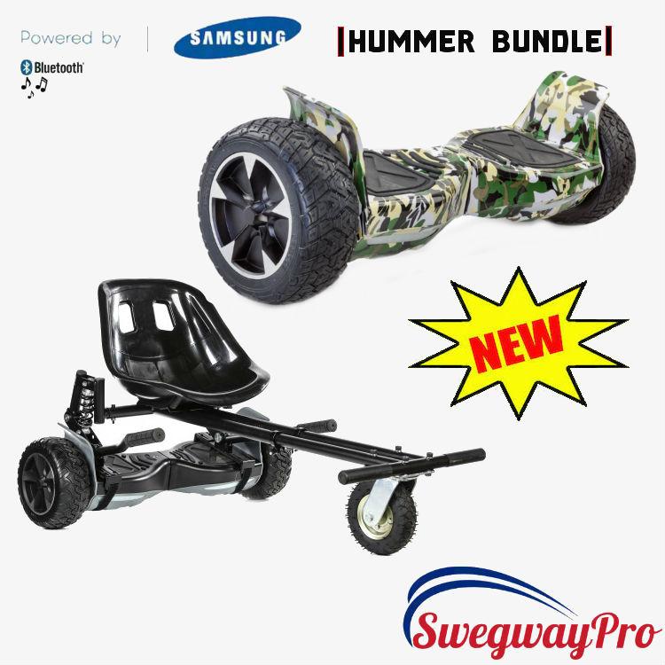 Camo HUMMER Hoverboard Suspension Hoverkart Sale UK