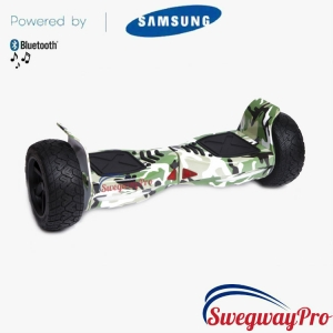 Green-Camo Hummer Off-Road Hoverboard for sale UK