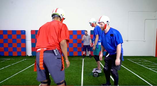 Hoverboard American Football
