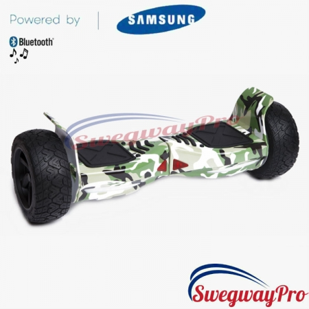 Hoverboard Sale UK Hummer Off-Road X-Trail H8 green-camo