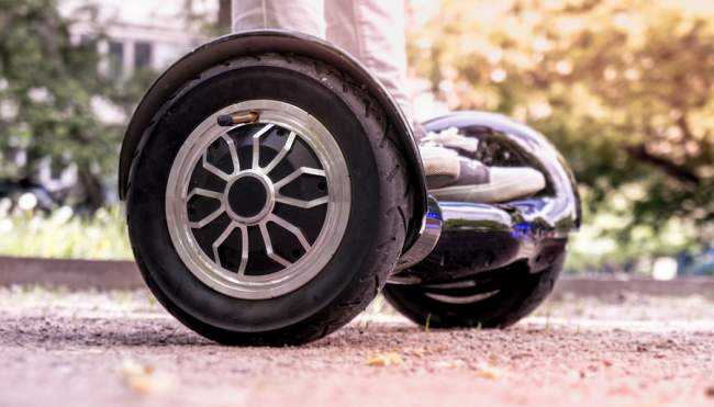 Wheel Size Hoverboard UK