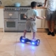 Worried Hoverboard hard to ride 4-year old child