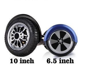 wheel size purchasing Hoverboard UK