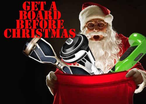 Hoverboard Christmas Sales Begin UK Swegways