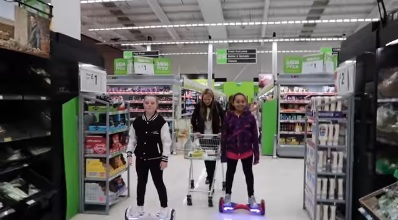 Hoverboard Shopping Challenge UK Sale