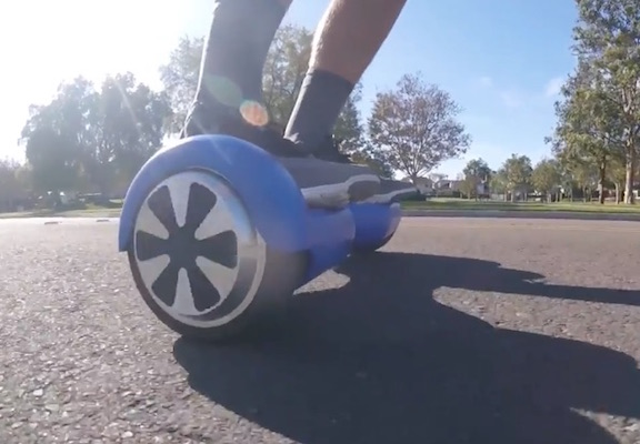 How far can a Hoverboard go charge