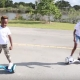 Sis vs Bro Hoverboard Challenge