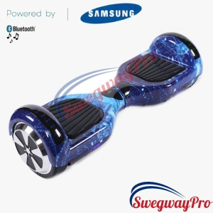 BLUE GALAXY Disco Hoverboard Sale UK M1X
