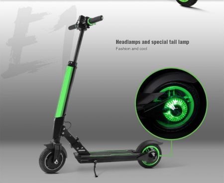 ELECTRIC SCOOTER SALE UK lights