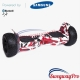 Hoverboard Sale UK Hummer Off-Road X-Trail H8 red-camo