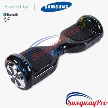 RAINBOW LIGHTNING Disco Hoverboard Sale UK M1X