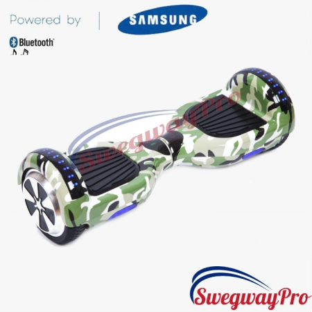 HOVERBOARDS UK Disco Hoverboard for sale GREEN CAMO