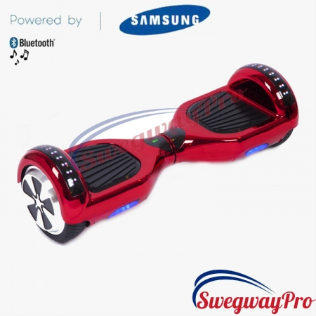 Hoverboard UK Chrome Red Disco Sale