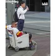 Motorised Hoverboard Chair UK Swegways