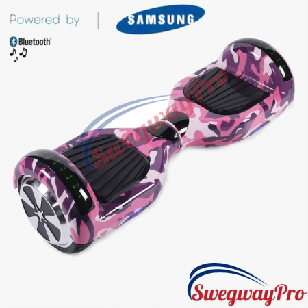 PINK CAMO Disco Hoverboard Sale UK M1X