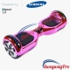 PINK CHROME Disco Hoverboard Sale UK M1X