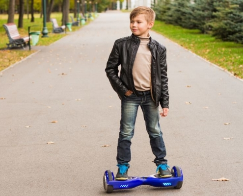 Games Kids play using Hoverboards
