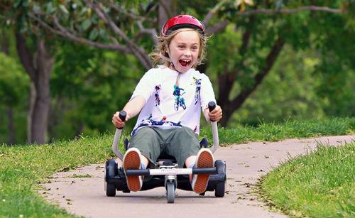Hoverboards on a Go-Kart UK