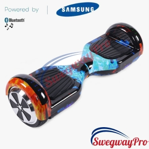 Flame Disco Hoverboard Sale UK M1X