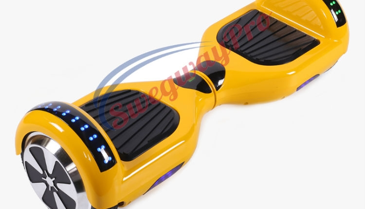 Yellow Disco Hoverboard Sale UK M1X