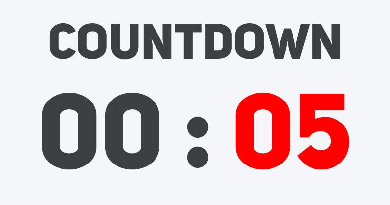 Hoverboard Sale Countdown UK