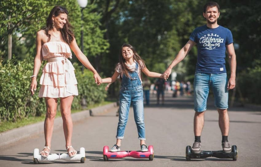 UK Hoverboard Weather Sun