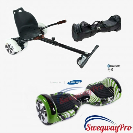 HOVERBOARDS UK green viper Swegway UK